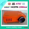 1080p Home LED Projector ATSC