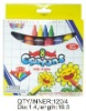 11*1.4cm 8c crayons ,promotional gift