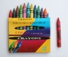 12 Color Crayons