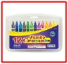 12 Colors Jumbo Crayons
