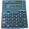 12 Digits Calculator With Dual Power Supply And 100 Steps Check Fucnction For Business