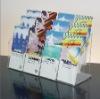 12 Pcket Clear Acrylic Brochure Holder