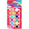 12 colors acrylic paint