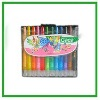 12 colors crayons
