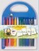 12 colors plastic crayon