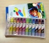 12color*12ml Gouache color Plastic tube