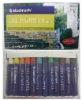 12pcs artists' oil pastels set closeout, stationery stocklot