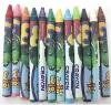 12pcs crayon set closeout, stocklot stationery