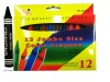 12pcs jumbo wax crayon in colorbox