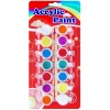 14 colors acrylic paint