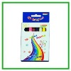 16 colors crayon in color box