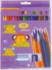 18 colors plastic crayon