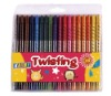 18 piece twisting crayon set