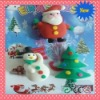 2011 3D CHRISTMAS ERASER FOR PROMOTIONAL GIFT