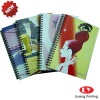 2011 Cute Spiral Notebook for promotion