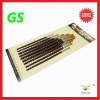2011 Hot New nylon  wooden oil painting brushes