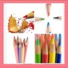 "2012 3.5'' or 7""Drawing nature wooden Color Pencil for school and workers"