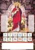 2012 Christian PVC Wall calendar