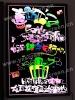 2012 rewritable led fluorecent board