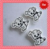 2012 special white/black lovely dog eraser