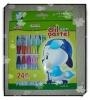24Color oil pastel