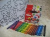 24pcs color crayon set