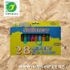 28pc Chunky Crayon