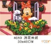 30*40cmhandpainted modern cartoon diy oil painting by numbers,oil painting on canvas for kids gift