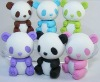 3D mini panda eraser