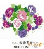 40*50cm decorative flower paint by numbers on canvas