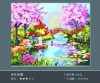 40 X 50CM Famous DIY Digital Painting Canvas 24 colors