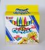48 colors wax crayons set