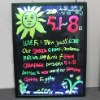 50cm*70cm led fluorescent Flash board