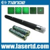 532nm 5mw-200mw green laser pointer pen with five heads
