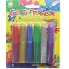 6*6ml Glitter Glue set