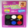 6-color Face Paint(oval-shaped,card packaging)