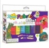 6-color neon fabric paint set