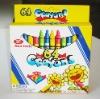 64 Color Wax Crayons