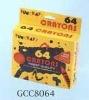 64 PCS Wax Crayon