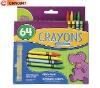 64 Wax Crayons