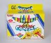 64 colors wax crayons set