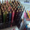 "7""Drawing Wooden Color Pencil Set With Printing"