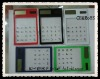 8-digital Solar Calculator / Transparent Touch-screen calculator---Patent product