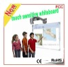 "80"" finger touch whiteboard, CE FCC and RoHS certified"