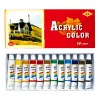 AC 1216 12 colors Acrylic  Color Paint Set