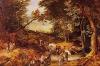 Beautiful art canvas handmade village landscape paintings hot sale