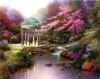 Beautiful landscape canvas famous painting fine art hot sale