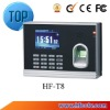 Best Seller Fingerprint Time Clock Support TCP/IP HF-T8