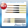 Black Golden Brush Set(Paint brush set)