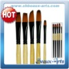 Black Golden Brush Set(artist brush set)